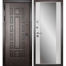 Входная дверь Дива МД-38 (с зеркалом)